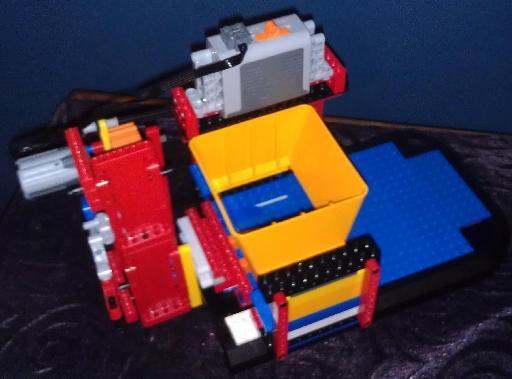 NXT Astro Blaster bare prototype.