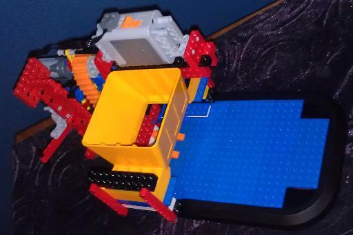 NXT Astro Blaster partial prototype.