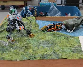 Jurassic Habitat sans t-rex